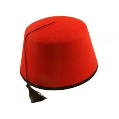 New 12 X Red Fez Hat Tommy Cooper Moroccan Turkish Adults Fancy Dress Up Costume