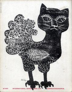 Gebrauchsgraphik 196108 Cover