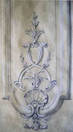 grisaille panel