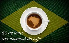 Hoje é 24 de maio. O dia do nosso café. Divulguem nossa arte de fazer‼️