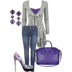 Very very pretty purple outfit