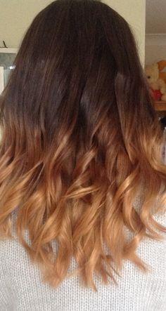 Dip dye hair : D