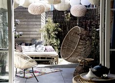 Love the hanging chair
