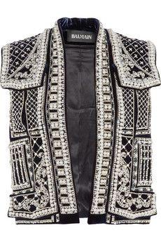 Balmain- embellished vest <3