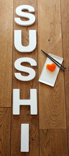 Love sushi.......!