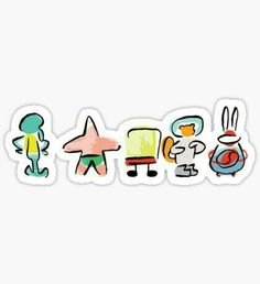High quality Spongebob gifts and merchandise. Inspired designs on t-shirts, posters, stickers, home decor, and more by independent artists and designers from around the world. Stickers Cool, Red Bubble Stickers, Meme Stickers, Tumblr Stickers, Phone Stickers, Printable Stickers, Planner Stickers, Macbook Stickers, Spongebob Friends