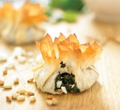 Spinach & Ricotta Filo Parcels | Weber® BBQ Recipes