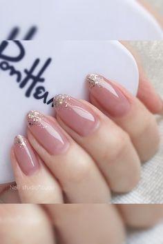 Elegant Nails, Classy Nails, Simple Nails, Chic Nails, Stylish Nails, Trendy Nails, Studded Nails, Bridal Nails, Wedding Nails