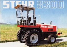 Tractorbrochures.com/Steyr 8000 - Series Steyr, Tractors