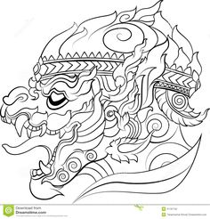 hanuman-new-thai-art-style-vector-usually-used-decorations-others-such-as-tattoo-41181752.jpg (1300×1359)