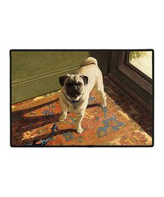 Take a look at this Subtle Hint Pug Doormat today!