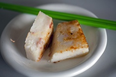 One of my favorite Diem Sum dishes, Turnip Cake...this came from TC Pastry in San Francisco. (March 24, 2012, San Francisco, CA)