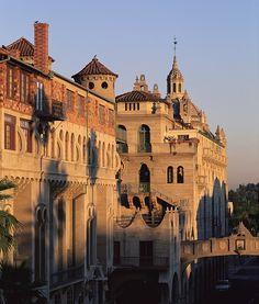 Historic Riverside Mission Inn, Riverside, CA.  Photo: University of #California, Riverside.