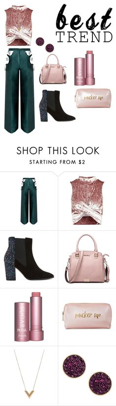 """""""Trend"""" by ayyan123 ❤ liked on Polyvore featuring beauty, Topshop, Dune, Neiman Marcus, Louis Vuitton and H&M"""