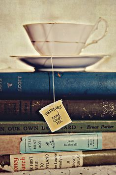 There is nothing so special as a book and a cup of tea, and the time to enjoy both!  So true!