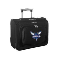 Charlotte Hornets 14-Inch Laptop Wheeled Business Case, Black