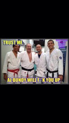 Al Bundy knows BJJ