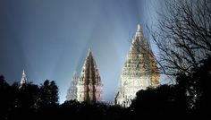 Prambanan temple. Source: skyscrapercity.com