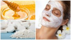 Homemade Facial Mask With Aspirin And Honey Makes Your Skin Glow Like Never Before - TheHealthRays Homemade Facial Mask, Homemade Facials, Psoriasis On Face, Honey Face Mask, Natural Glow, Tips Belleza, Perfect Skin, Diy Skin Care, Skin Problems