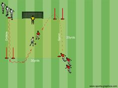 Playing Out the Back SSG - Playing Out from the Back SSGs - Soccer Drills & Football Drills - Professional Soccer Coaching Football Coaching Drills, Soccer Drills, Training Day, Soccer Training, Youth Soccer, Football Soccer, Physical Education Lessons, Professional Soccer, Soccer Practice