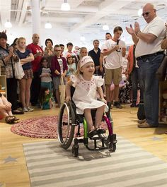 'What inclusion looks like': Kids of all abilities pose on diverse runway