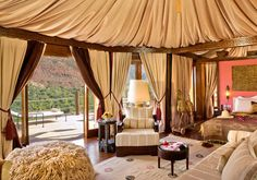 Sir Richard Branson's Moroccan Retreat - Kasbah Tamadot Hotel