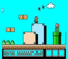 The Mushroom Kingdom: Super Mario Bros. 3 lost levels, unused sprites, and unused bonus games. Mario Bros 3, Super Mario Brothers, Mario And Luigi, Super Mario Bros, Classic Video Games, Retro Video Games, Mario Party Games, Super Mario World, School Videos