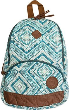 Roxy Great Outdoors Backpack Awesome Backpacks, Roxy Backpacks, School Backpacks, School Accessories, Bag Accessories, Cute Purses, Purses And Bags, Backpack Purse, Fashion Backpack