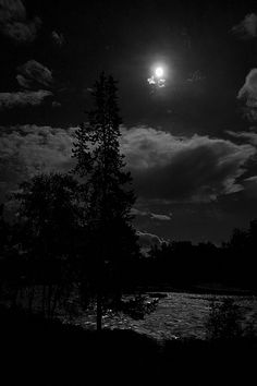 Moonlight on the River by Mary Lee Dereske prints/cards/gifts: maryleephoto.com