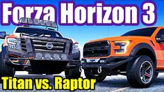 Titan vs. Raptor | T70 vs. GT40 | Bentayga vs. Supersports - FORZA HORIZ...