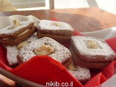 עוגיות שוקולד קפה עם מילוי חלבה / צילום : ניקי ב