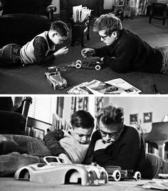 """"""" Jimmy and Markie photographed by Dennis Stock, 1955. """""""