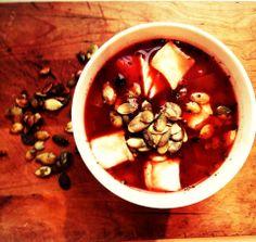 Włoska Pomidorówka/ Toamto Italian Soup / www.cookishstylish.com
