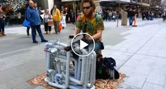 Street Performer Plays House & Techno With PVC Pipes & Flip Flops http://www.iconicvideos.biz/street-performer-plays-house-techno-pvc-pipes-flip-flops/