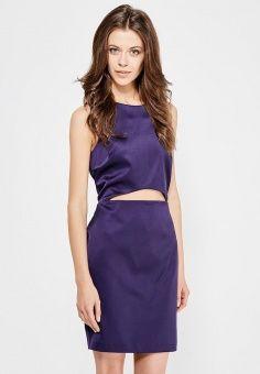 Платье, River Island, цвет: синий. Артикул: RI004EWOXA51. Женская одежда / Платья и сарафаны / Вечерние платья
