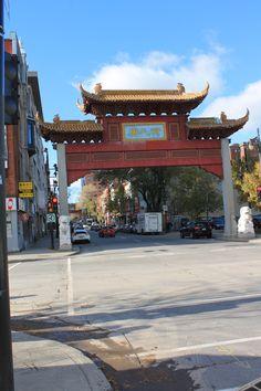 Tor zum schlimmstes Ortsteil (Chinatown)