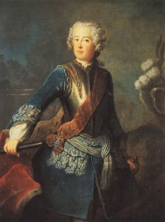 Frederick II of Prussia by Antoine Pesne, 1730s
