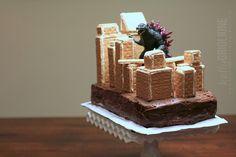 Happy, HAPPY, belated birthday, my friend Tracey ! Joyce from Cards-by-the-Sea did suc. Godzilla Party, Godzilla Birthday Party, Monster Birthday Parties, Monster Party, Birthday Bash, It's Your Birthday, Birthday Party Themes, Birthday Ideas, Graham Cake