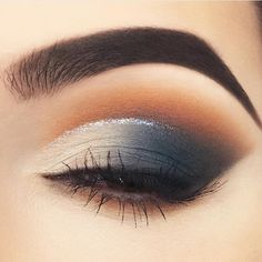 Cool grey eye shadow