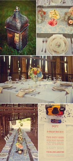 I spy at a wedding... genius.