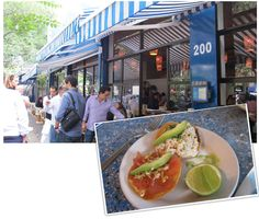 Contramar is the chic lunch place to see and be seen. We visited twice for the delicious tuna tacos which are not to be missed. Tip: In Mexico City lunch starts on the late side of 1pm and can usually last at least three hours.