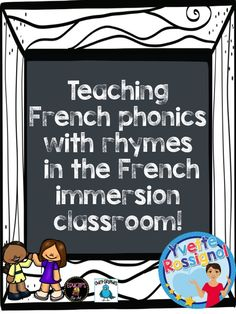 Original rhymes + large variety of activities! Perfect to teach French sounds/French phonics! French Teacher, Teaching French, Teaching Spanish, Teaching Time, Teaching Reading, Teaching Resources, French Lessons, Spanish Lessons, French Basics