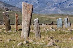 Mongolian deer-stones