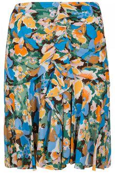 M-Missoni Damen Rock mit Blütenprint Multicolor M Missoni, Trends, Designer, Shirt Dress, Swimwear, Mens Tops, Shirts, Dresses, Fashion