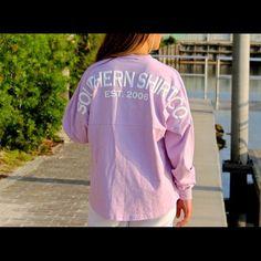 Southern Tshirt Co Spirit Jersey Purple southern shirt co spirit jersey! Southern Shirt Company Tops Tees - Long Sleeve