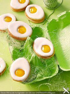 Zitronige Ostereier - Kekse, ein sehr leckeres Rezept aus der Kategorie Kekse & Plätzchen. Bewertungen: 66. Durchschnitt: Ø 4,3.