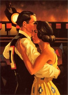 WikiPaintings.org - the encyclopedia of painting Competition Dancers - Jack Vettriano