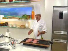 Receta de Karlos Arguiñano: Salchichas con puré de castañas - YouTube