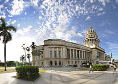 Way before the site for the #Capitolio #Habana had been appropriately cleaned up after its construction, the Capitol was an mandatory visit for all visitors