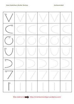 Ejercicios de grafomotricidad para niños
